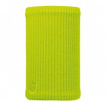 Шарф BUFF Freestyle KNITTED & POLAR NECKWARMER BUFF DRIP YELLOW FLUOR