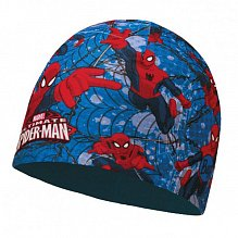 Шапка BUFF SUPERHEROES JR MICROFIBER POLAR HAT BUFF WARRIOR BLUE