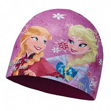 Шапка BUFF Licenses FROZEN JR MICROFIBER POLAR HAT BUFF SISTERS PINK