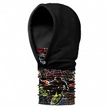 Капюшон BUFF KIDS HOODIE BUFF XTREAM\BLACK POLARTEC
