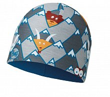 Шапка BUFF CHILD MICROFIBER & POLAR HAT BUFF HIDDING GREY-GREY-Standard