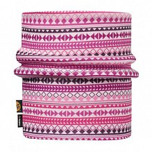 Шарф BUFF JR & CHILD REVERSIBLE POLAR NECKWARMER BUFF DIAMONDS PINK-PINK-Standard