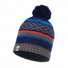Шапка BUFF KNITTED & POLAR HAT JUNIOR TIPSY BLUE INK