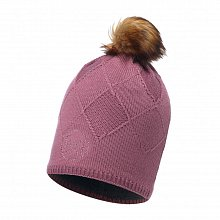 Шапка BUFF KNITTED & POLAR HAT STELLA HEALA HEATHER ROSE CHIC