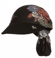 Бандана BUFF VISOR BUFF PALM BEACH BLACK