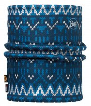 Шарф BUFF REVERSIBLE POLAR NECKWARMER BUFF KNIT DARK NAVY / NAVY-DARK NAVY-Standard