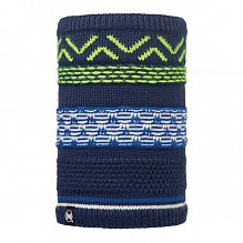 Шарф BUFF KNITTED & POLAR NECKWARMER BUFF SWITCH DARK NAVY-DARK NAVY-Standard