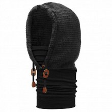 Капюшон BUFF THERMAL HOODIE BUFF SOLID BLACK