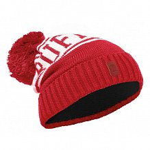 Шапка BUFF JUNIOR KNITTED & POLAR HAT BUFF SHIKO RED-RED-Standard