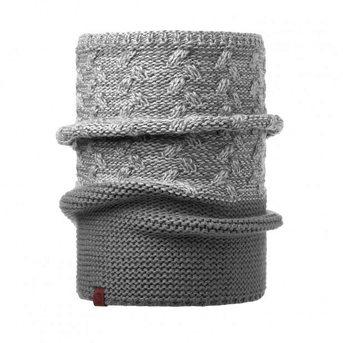 Шарф BUFF KNITTED COLLAR KIAM GREY