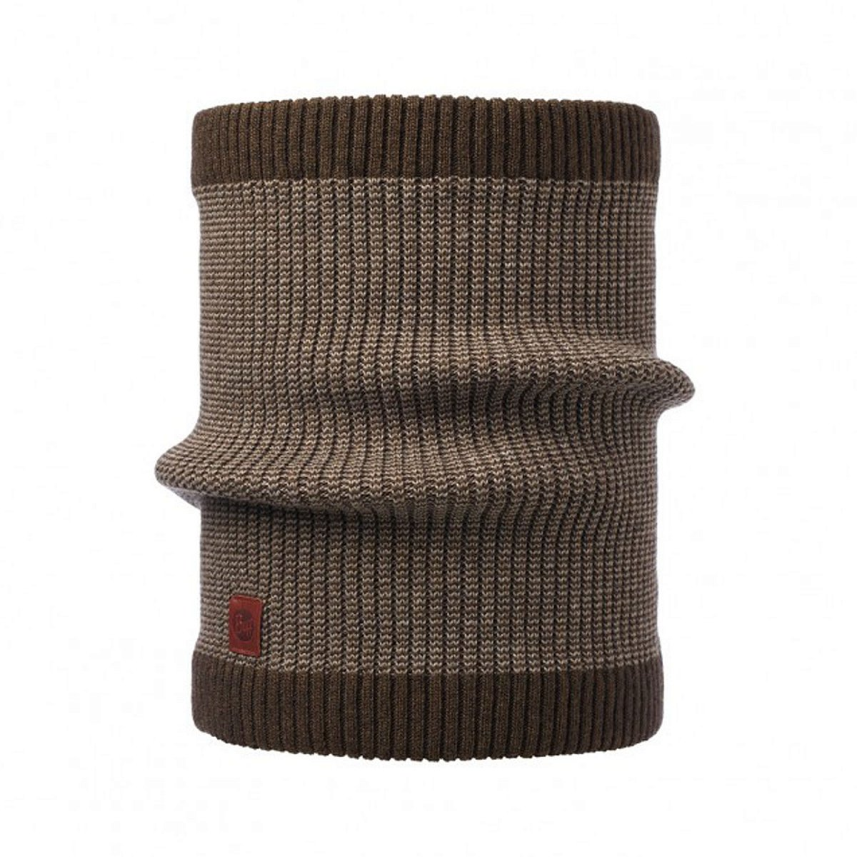 Шарф BUFF KNITTED NECKWARMER COMFORT DEE BROWN