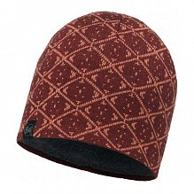 Шапка BUFF ACTIVE COLLECTION KNITTED & POLAR HAT BUFF ARDAL WINE