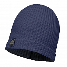 Шапка BUFF KNITTED HAT BUFF BASIC DARK NAVY-DARK NAVY/OD
