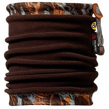 Бандана BUFF Angler Neckwarmer BUFF FLAWS / TRUFFLE