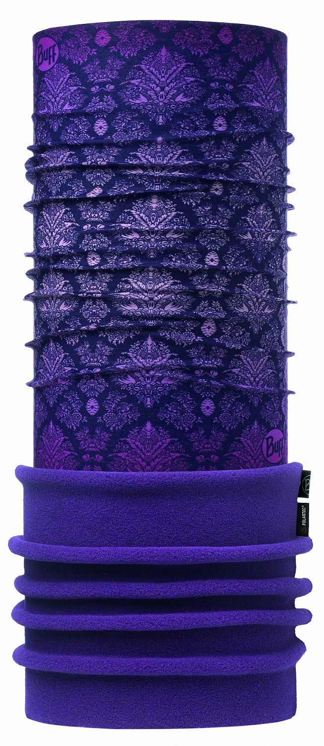 Бандана BUFF POLAR DAMASK PURPLE
